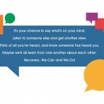 Collaborative for Recovery Dialogue flyer